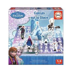 Jeu éducatif La Reine des Neiges (Frozen) : Calculs sur la glace EDUCA