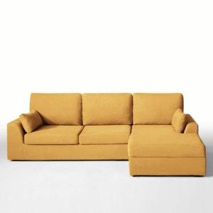 canape convertible jaune la redoute. Black Bedroom Furniture Sets. Home Design Ideas