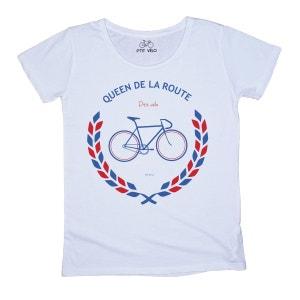 T-shirt Queen de la Route P TIT VELO