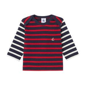 Marinière bébé garçon en jersey lourd PETIT BATEAU