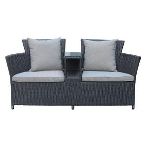 Fauteuil de jardin TWO - love seat - canapé d'extérieur ROTIN DESIGN