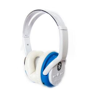 Bat Music - FD-BT-668S - Casque audio Bluetooth Stéréo Bleu NONAME