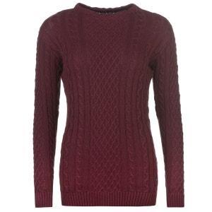 Pull en tricot épais manche longue KANGOL