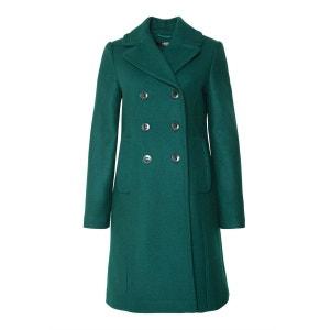 Manteau en laine au col à revers HALLHUBER