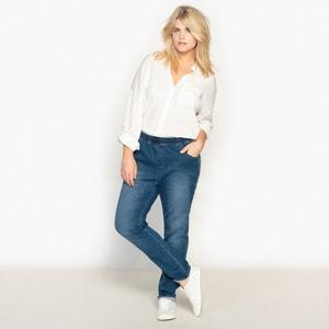 Boyfriend Jeans with Elasticated Waist CASTALUNA