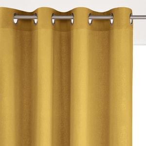 Odorie Linen/Viscose Single Eyelet Curtain La Redoute Interieurs