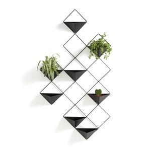 Bloemenrek in metaal om op te hangen, Ikebana