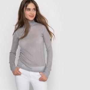 Jersey de canalé estilo fibra metalizada La Redoute Collections