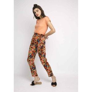 Pantalon loose, taille haute froncée et élastiquée COMPANIA FANTASTICA