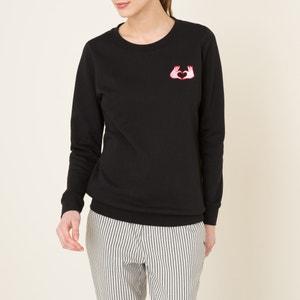 Sweatshirt with Patches MAISON SCOTCH