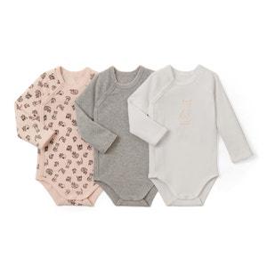 Lote de 3 bodies bebé 0 meses - 3 años La Redoute Collections