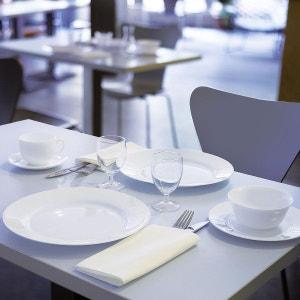 Assiette plate blanche 24 cm Everyday LUMINARC