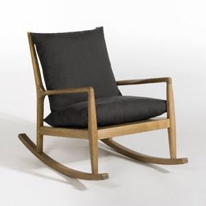 Rocking-chair toile lin, Dilma AM.PM.
