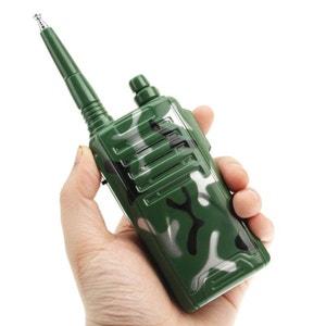 Kit talkie walkie jouet portée 300m push to talk camouflage militaire Yonis