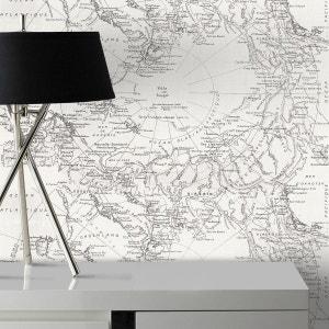 Papier Peint Design Planisphere ATYLIA