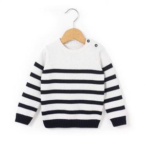 Gestreifter Pullover, 1 Monat-3 Jahre R essentiel