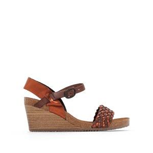 Sandales cuir compensées Splendid KICKERS