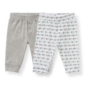 Legging en coton 0 mois-3 ans (lot de 2) R Edition