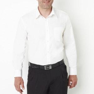 Chemise popeline manches longues stature 3 CASTALUNA FOR MEN