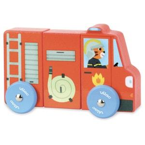 """9-delige set magnetische voertuigen """"Vrachtwagens"""" VILAC"""