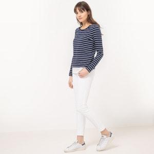 Short-Sleeved Breton T-Shirt TOM TAILOR
