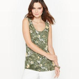 T-shirt estampada, malha suave ANNE WEYBURN