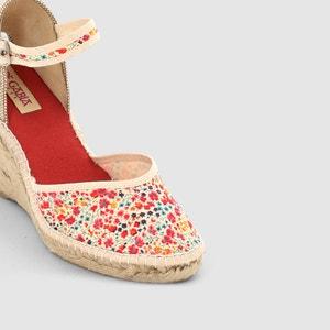 Sandalen in bedrukte stevige stof PARE GABIA Katy PARE GABIA