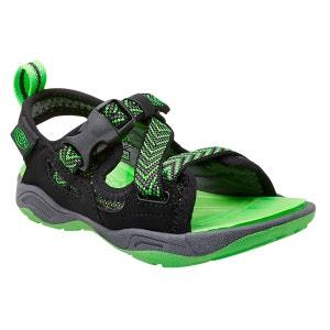 Rock Iguana - Sandales Enfant - vert/noir KEEN