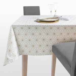 Toalha de mesa Noel Nordic Star, estampado dourado. La Redoute Interieurs