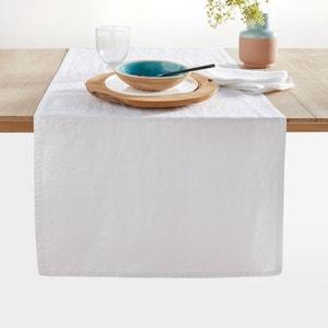 Caminho de mesa Victorine, linho lavado. La Redoute Interieurs