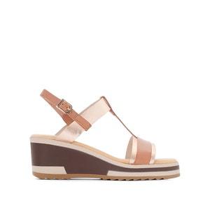 Leren sandalen met sleehak WINNIE KICKERS