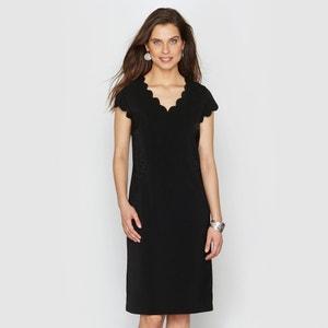 Vestido de crepé ANNE WEYBURN