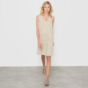Robe en lin/coton R édition