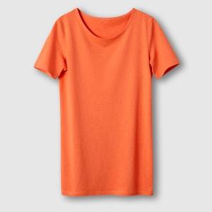 T-shirt lisa, algodão bio R essentiel