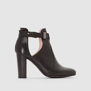 Boots en cuir à talon MADEMOISELLE R