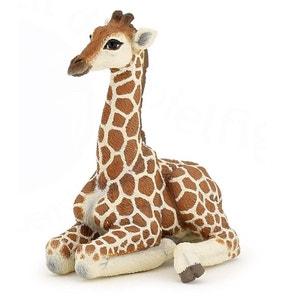 Figurine girafe bébé couché PAPO