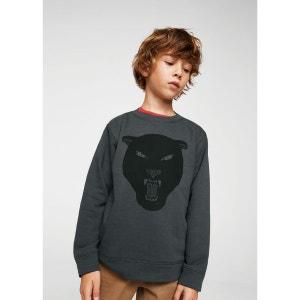 Sweater coton message MANGO KIDS
