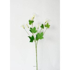 Fleur artificielle Belle de jour ou Ipome H 70 cm Blanc neige - couleur: Blanc neige ARTIFICIELLES