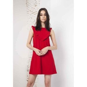 Plain Short Sleeveless Shift Dress COMPANIA FANTASTICA