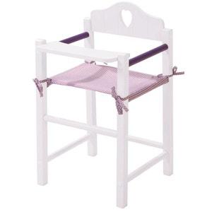 Roba 98334 Chaise haute en bois déco Fienchen pour poupées. ROBA