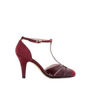 Zapatos salomé en dos materias MADEMOISELLE R