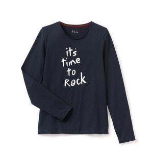 Conf. di T-shirt scollo rotondo fantasia La Redoute Collections
