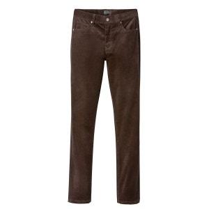 Pantalon slim en velours La Redoute Collections