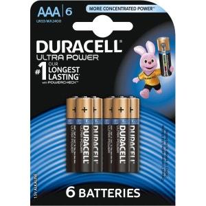 Pile DURACELL AAA x6 Ultra Power LR03 DURACELL