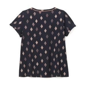 Diamond Print T-Shirt La Redoute Collections