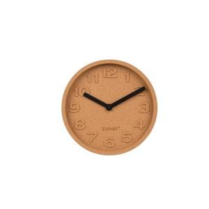 Horloge déco en liège Cork Time par Zuiver ZUIVER