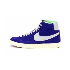 Basket blazer mid premium suede  violet Nike  La Redoute
