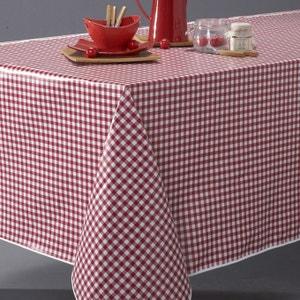 Toalha de mesa redonda vichy em P.V.C., GARDEN PARTY La Redoute Interieurs