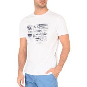 T-shirt col rond, motif devant, Sancy NAPAPIJRI