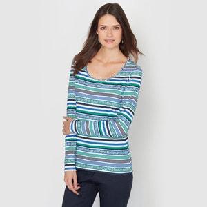 T-shirt, puro cotone pettinato ANNE WEYBURN